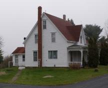Northwest Elevation, Countway Home, Chester Basin, Nova Scotia.; Heritage Division, Nova Scotia Department of Tourism, Culture and Heritage, 2009.