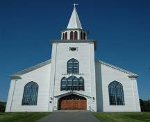 Front Perspective, St. Peter's Roman Catholic Church, Tracadie, Nova Scotia, 2009.; Heritage Division, N.S. Dept. of Tourism, Culture and Heritage, 2009.