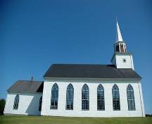 West Elevation, St. Peter's Roman Catholic Church, Tracadie, Nova Scotia, 2009.; Heritage Division, N.S. Dept. of Tourism, Culture and Heritage, 2009.