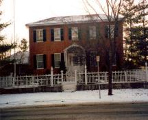 General View of Stewart McLeod House in the Niagara-on-the-Lake Historic District, 2002.; Parks Canada Agency / Agence Parcs Canada, 2002.