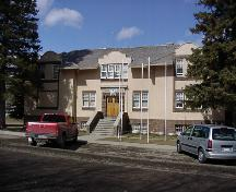 The Blairmore Courthouse Provincial Historic Resource (Fall 2004); Alberta Culture and Community Spirit, Historic Resources Management Branch, 2004