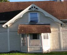 Larder House, Original Gable, New Ross, Nova Scotia, 2009.; Heritage Division, Nova Scotia Department of Tourism, Culture and Heritage, 2009.