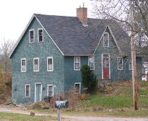 Front Elevation, Backman Homestead, Martin's River, Chester Basin, Nova Scotia.; Heritage Division, Nova Scotia Department of Tourism, Culture and Heritage, 2009.