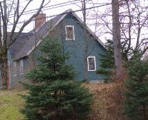 Side Elevation, Backman Homestead, Martin's River, Chester Basin, Nova Scotia.; Heritage Division, Nova Scotia Department of Tourism, Culture and Heritage, 2009.