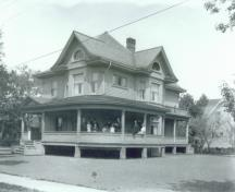 Archive image of house, c 1920; MacNaught Archives Acc. 020.79