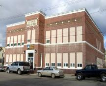 The old Coleman High School Provincial Historic Resource (April 2004); Alberta Culture and Community Spirit, Historic Resources Management Branch, 2004