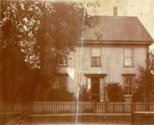 Archive image of Sinclair House, c 1900; MacNaught Archives Acc. 063.2