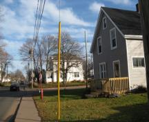 Showing context on street; City of Summerside, 2009