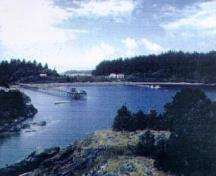 General view of Yuquot.; Parks Canada/Parcs Canada, 1997
