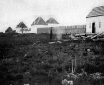 General view of Fort Resolution in 1907.; Parks Canada/Parcs Canada 1907.