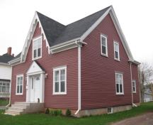 Showing southwest elevation; City of Summerside, 2007