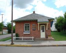 Alberta Government Telephones Exchange Building, Mannville; Alberta Culture and Community Spirit, Historic Resources Management, 2008