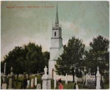 Postcard image of church, c. 1910; St. John's Presbyterian Church Collection