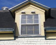 One of the wall dormers on the James Atkins House in the Town of Lockeport, NS.; NS Dept. of Tourism, Culture & Heritage, 2009