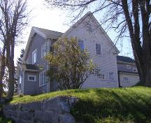 The north elevation of the Lewis P. Churchill House in the Town of Lockeport, NS.; NS Dept. of Tourism, Culture & Heritage, 2009