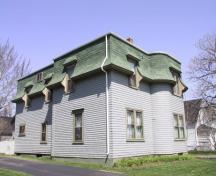 Showing southwest elevation; City of Summerside, 2009