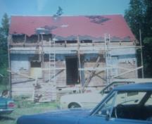 Renovations underway in 1970s; Private Collection
