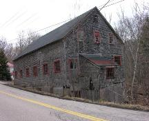 Side Perspective, LeQuille Mill, LeQuille, 2005; Heritage Division, Nova Scotia Department of Tourism, Culture and Heritage, 2005
