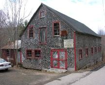 Front Perspective, LeQuille Mill, LeQuille, 2005; Heritage Division, Nova Scotia Department of Tourism, Culture and Heritage