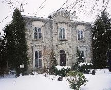Front view of Exterior in winter.; Betty Lou Clark