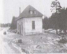 Historic image of the Old Power House taken circa 1929; Grand Manan Archives