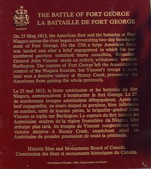 General view of the Battlefield of Fort George.