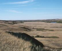 General view of the Treaty Flats at Blackfoot Crossing, looking north.; Parks Canada Agency / Agence Parcs Canada, undated.