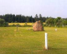 View of cemetery grounds; PEI Genealogical Society, George Sanborn Jr., 2009