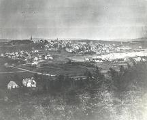 Old Town Lunenburg from Kaulbach Head ca. 1905; Courtesty of the Town of Lunenburg