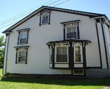 St. John's Rectory, Old Town Lunenburg, west façade, 2004; Heritage Division, Nova Scotia Department of Tourism, Culture and Heritage, 2004