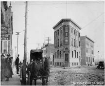 Flat Iron Building Provincial Historic Resource (date unknown); Glenbow Archives, NA-3026-42