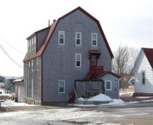 The Barn today as the Ells Funeral Home; Grand Manan Historical Society