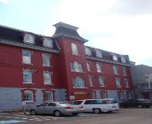 View of main facade, St. Michael's Orphanage, Belvedere, St. John's, NL.; Heritage Foundation of Newfoundland and Labrador, 2005
