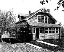 McElvy House, circa 1935, Port Williams, N.S.; Courtesy of Arlene Kearn, 2010