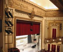 Interior view of Pantages Playhouse Theatre, Winnipeg, 2007; Historic Resources Branch, Manitoba Culture, Heritage, Tourism and Sport, 2007