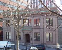 Exterior photo of 261 Duckworth Street front facade, St. John's.  Taken March 2005.; HFNL 2005.
