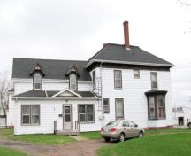 Showing west elevation; City of Summerside, 2009