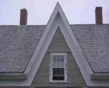 This photograph illustrates the distinguishing cross gable, 2009; Town of St. Andrews