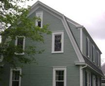 This photograph shows the side view of the residence, 2009; Town of St. Andrews