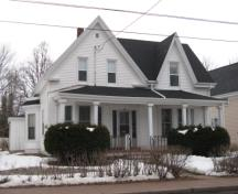 Showing south elevation; City of Summerside, 2010