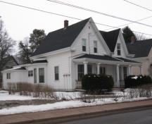 Showing southwest elevation; City of Summerside, 2010