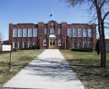 Grande Prairie High School, Grande Prairie (April 1999); Alberta Culture and Community Spirit, Historic Resources Management Branch, 1999
