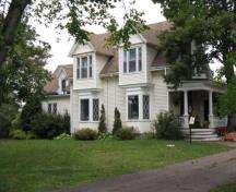 Showing southeast elevation; City of Summerside, 2009