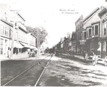 Water Street (Milltown Boulevard today); Provincial Archives of NB