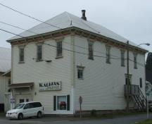 Kalijas Restaurant was one of many commercial businesses that operated out of this 100 plus year old building.; Doris E. Kennedy