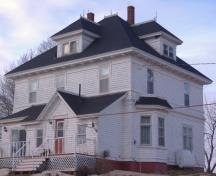 Showing back elevation; Alberton Historical Preservation Foundation, 2009