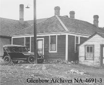 Alberta Provincial Police Building Provincial Historic Resource (date unknown); Glenbow Archives, NA-4691-3