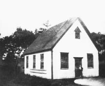 Archive image of school, 1931; Alberton Museum Collection