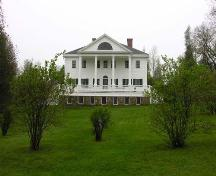 Front Elevation, Uniacke House, Mount Uniacke, 2005.; Heritage Division, Nova Scotia Department of Tourism, Culture and Heritage, 2005
