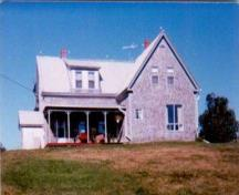 The John Boynton House after renovations in 1986; Evelyn Peters